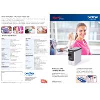 Brother PT-P700 Professional Label Printer - Datasheet