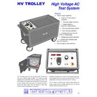 T & R HV Trolley - Datasheet
