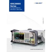 Siglent SDG2084X Waveform Generator - Datasheet