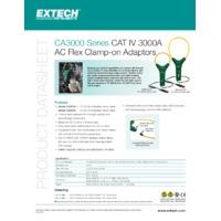 Extech CA3010 Flexible AC Clamp Adaptor - Datasheet