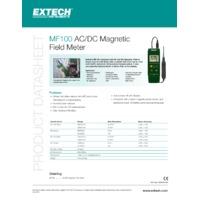Extech MF100 Magnetic Field Detector - Datasheet