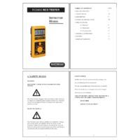 Martindale RC2000 RCD Tester - User Manual