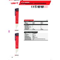 UNI-T UT13A Voltage Detector - Datasheet