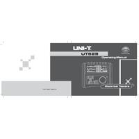UNI-T UT528 PAT Tester - User Manual
