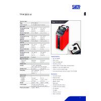 Sika TP M 255 S-U Temperature Calibrator - Datasheet