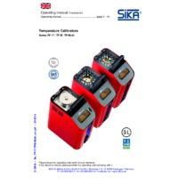 Sika TP M 225 S Temperature Calibrator - User Manual