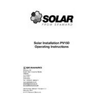Seaward PV150 Solar Tester - User Manual