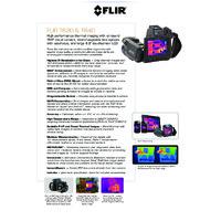 FLIR T640 Thermal Camera - Datasheet