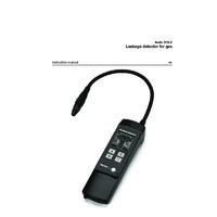 Testo 316-2 Gas Leak Detector - User Manual