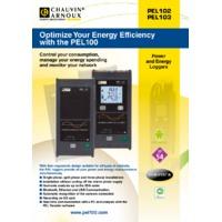 Chauvin Arnoux PEL102 Power and Energy Logger - Datasheet