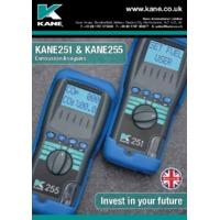 Kane 255 Combustion Analyser - Leaflet