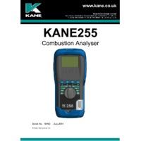 Kane 255 Combustion Analyser - User Manual