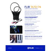 FLIR TA74 Universal Flexible Current Probe - Datasheet