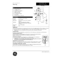 GE Druck PV210 Low Pressure Pneumatic Hand Pump - User Manual