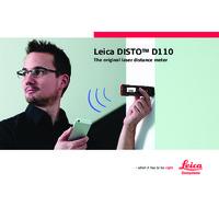 Leica Disto D110 Laser Distance Meter - User Manual