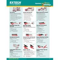 Extech TL748 Spring Loaded Hook Tip Probes