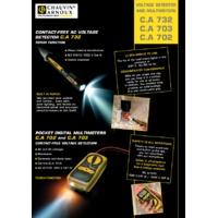 Chauvin Arnoux CA702 Pocket Digital Multimeter - Datasheet
