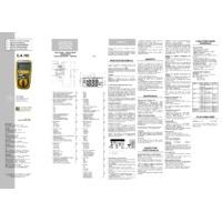 Chauvin Arnoux CA703 Pocket Digital Multimeter - User Manual