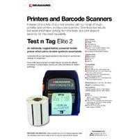 Seaward PAT Testing Printers and Barcode Scanners Brochure
