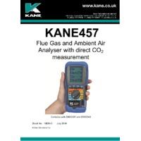 Kane 457 Flue Gas Analyser - User Manual