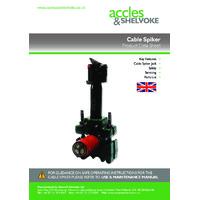 ACVOKE Heavy Duty Cable Spiker - Datasheet