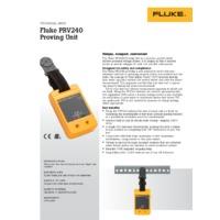 Fluke PRV240 Proving Unit - Datasheet