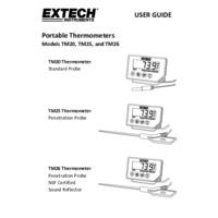 Extech TM26 Temperature Indicator - User Manual