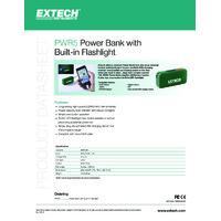 Extech PWR5 Power Bank - Datasheet