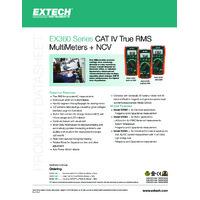 Extech EX365 Digital Multimeter - Datasheet