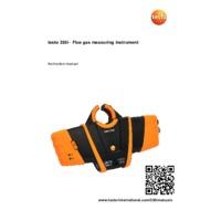 Testo 330i Flue Gas Analyser - User Manual