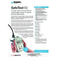 Rigel SafeTest 60 Medical PAT Tester - Datasheet