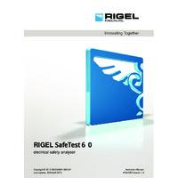 Rigel SafeTest 60 Medical PAT Tester - User Manual