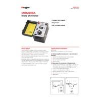 Megger MOM200A Micro-Ohmmeter - Datasheet