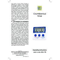 ETI 806-105 Countdown Timer - Instructions