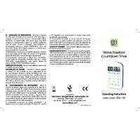 ETI 806-150 Countdown Timer - Instructions