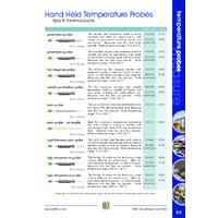 ETI Therma Plus Thermometer - Probe Guide