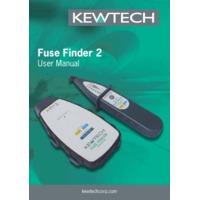 Kewtech FFINDER Fuse Finder - User Manual