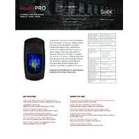 Seek Thermal RevealPro Thermal Camera - Datasheet