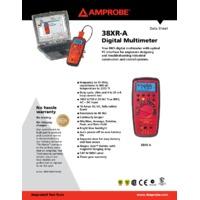 Amprobe 38XR-A Digital Multimeter - Datasheet