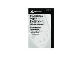 Amprobe 38XR-A Digital Multimeter - User Manual