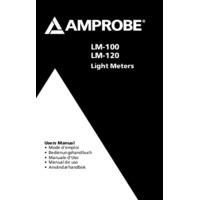 Amprobe LM-100 Light Meter - User Manual