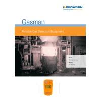 Crowcon Gasman Portable Gas Detector - Datasheet