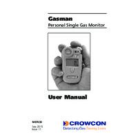 Crowcon Gasman Portable Gas Detector - User Manual