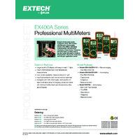 Extech EX430A Digital Multimeter - Datasheet