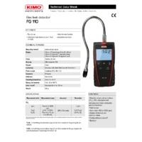 KIMO FG110 Gas Leak Detector