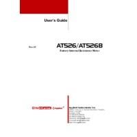 Applent AT526B AC Resistance Meter - User Manual