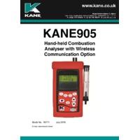 Kane 905 Commercial Flue Gas Analyser - User Manual