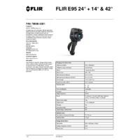 FLIR E95 Thermal Camera - Technical Datasheet