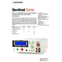 Seaward Clare Sentinel 200 Production Line Safety Tester - Datasheet