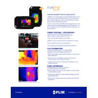 FLIR C3 Thermal Camera - Datasheet